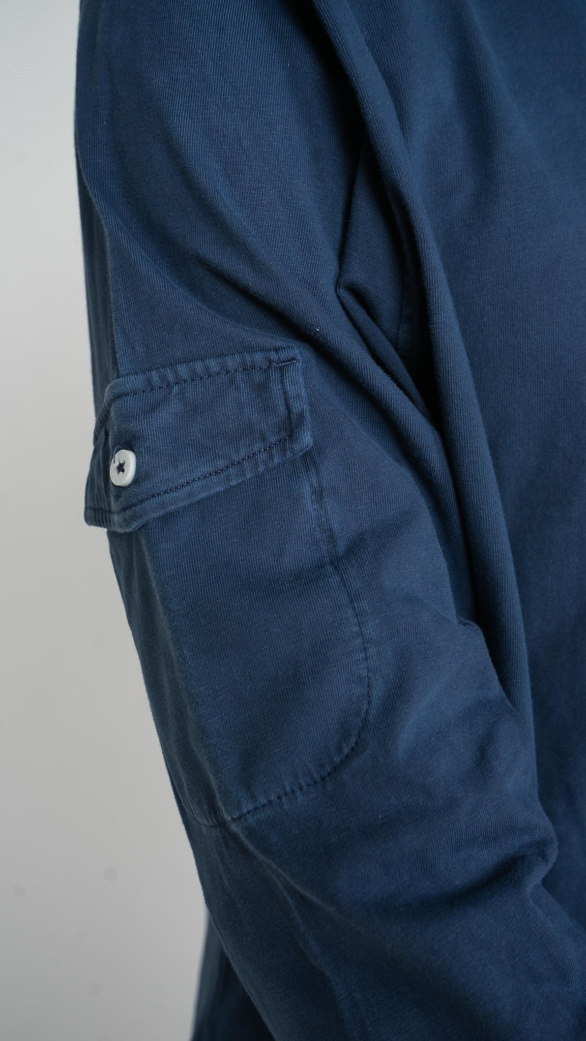 Polo manga larga Pocket | Humpier | Algodón orgánico
