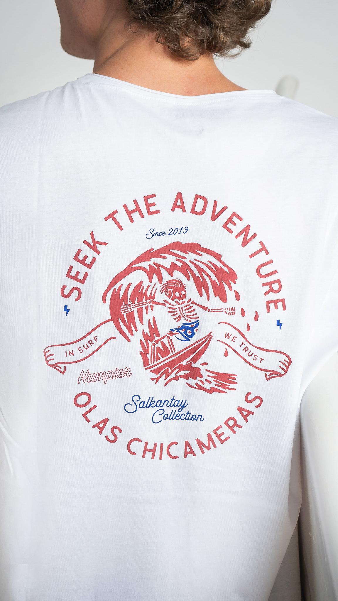 Camiseta Chicama Blanca | Humpier | Salkantay Collection