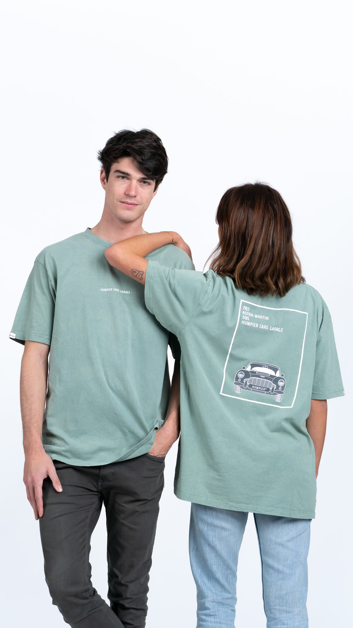 Camiseta Humpier Cars Garage
