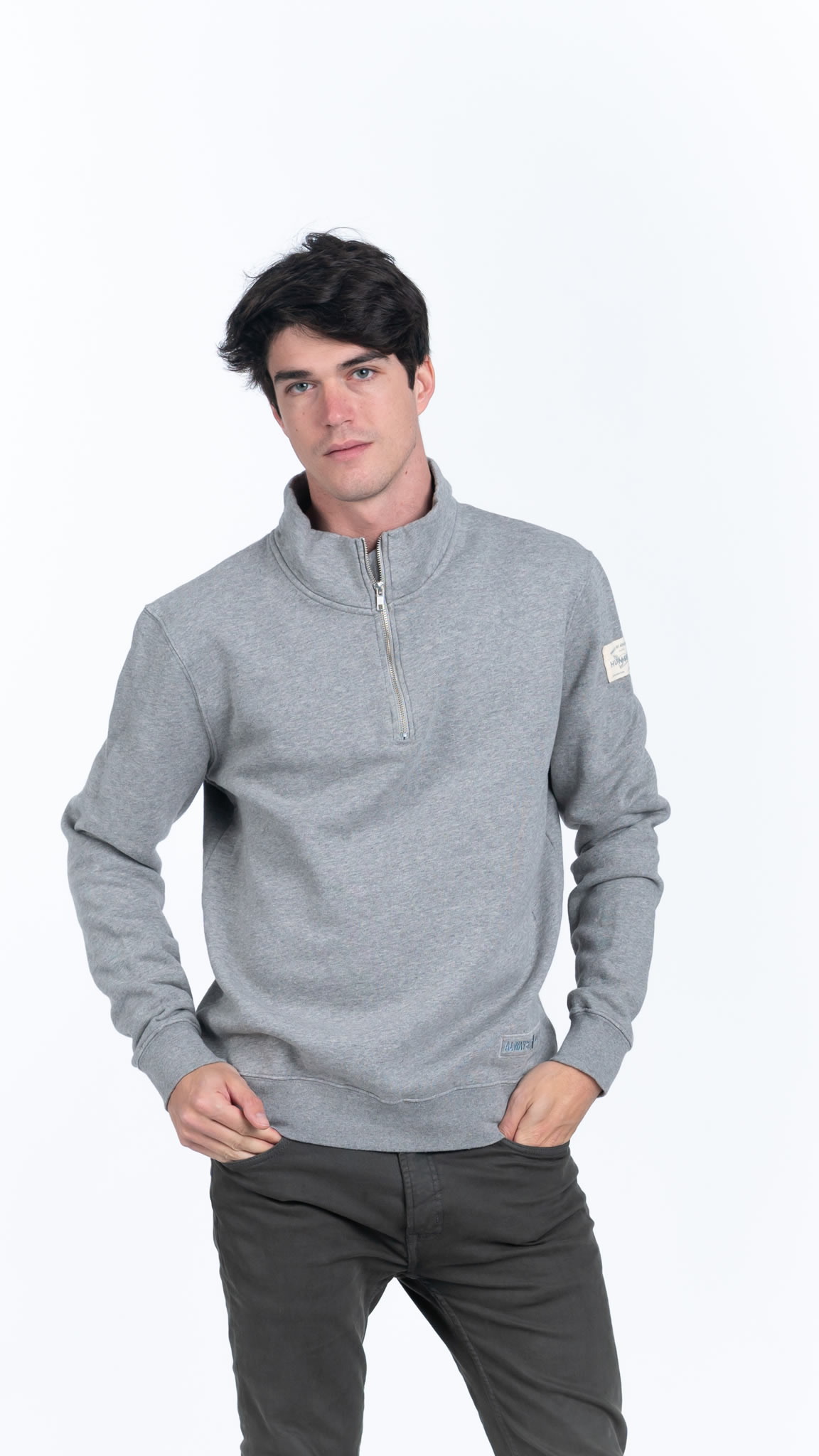 Humpier Jersey Eco-Cotton Gris